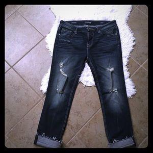Vigoss Slim cropped jeans-NEW!